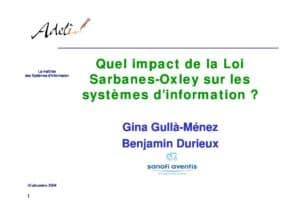 SarbanesOxleyAct_et_implication_du_SI_Gina_Gulla_Menez_Benjamin_Durieux 6