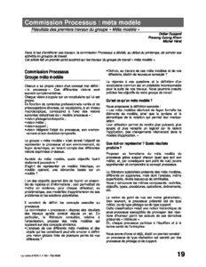 l60p19-Commission processus : méta modèle 1