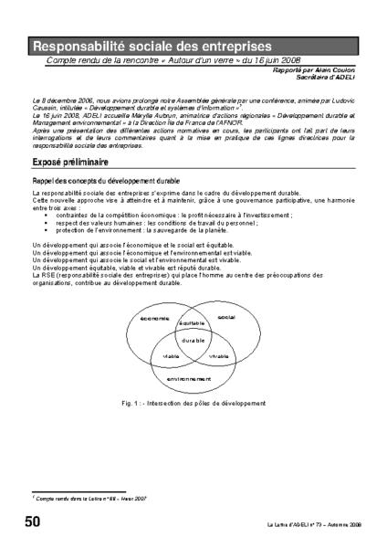 l73p50-Responsabilité sociale des entreprises