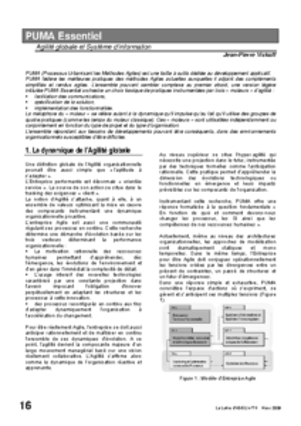 l74p16 – L'agilité essentielle