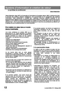 l75p12-Système d'information et création de valeur 2