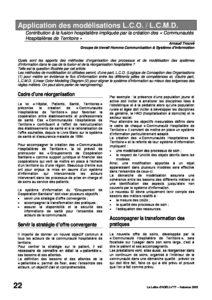 l77p22-Application des modélisations L.C.O./L.C.M.D. 6