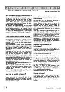 l70p18-Le management de projet: panacée ou pas assez 9