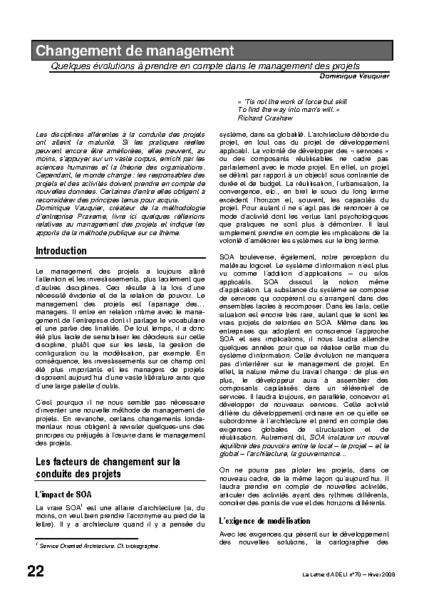 l70p22-Changement de management