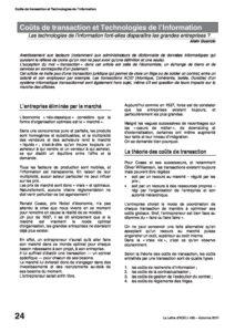 l85p24-Coûts de transaction et technologies de l'information 9