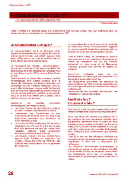 """l85p28-""""Consumérisation"""" de l'IT"""