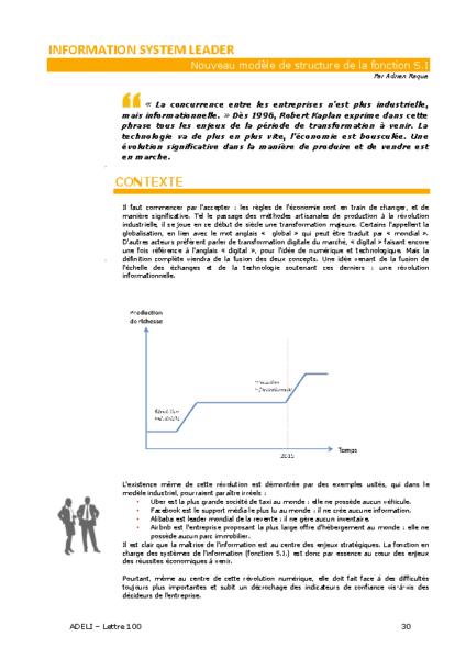 L100p30-Information system leader