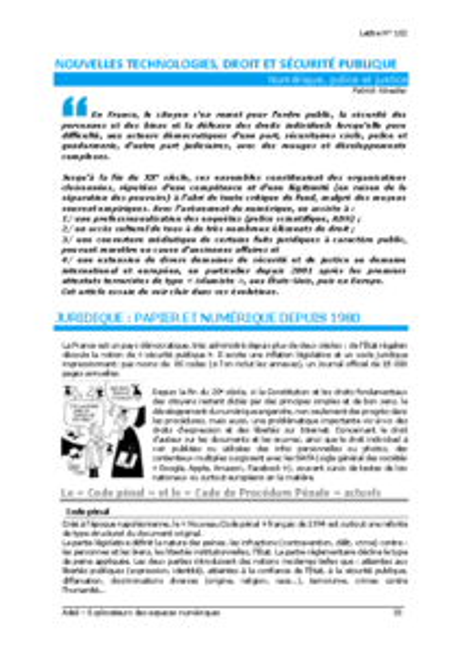 L102p33-Nouvelles technologies, droit et sécurité publique