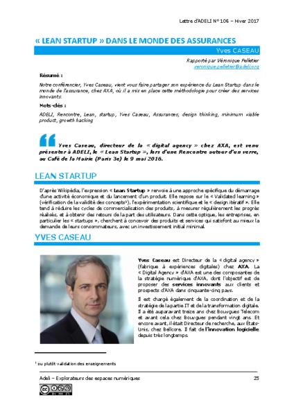 L106p25-Lean startup dans le monde des assurances