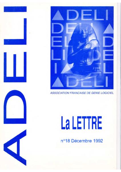 Lettre 18 – Décembre 1992