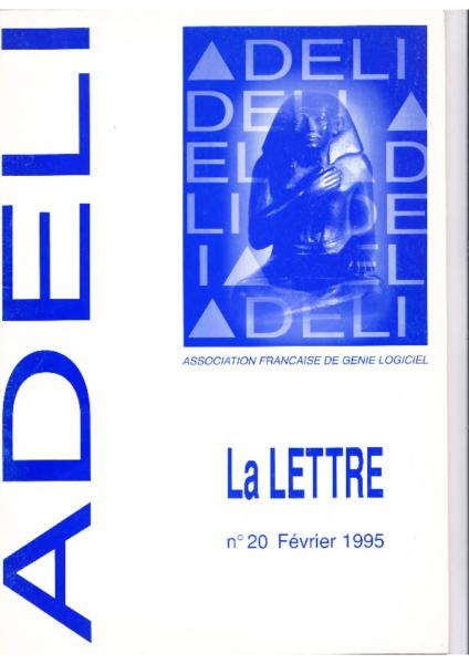 Lettre 20 – Février 1995