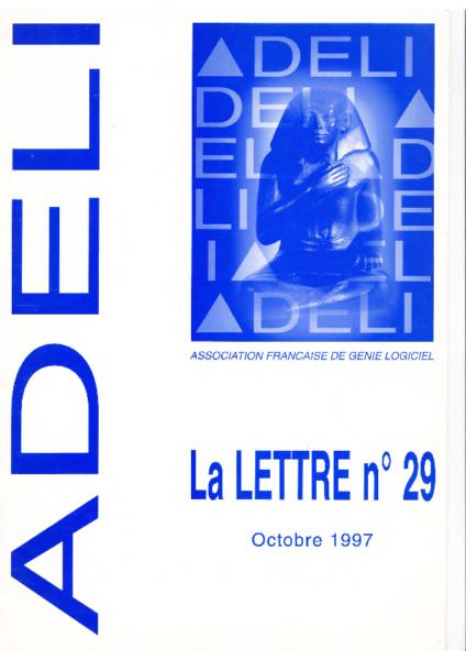 Lettre 29 – Octobre 1997