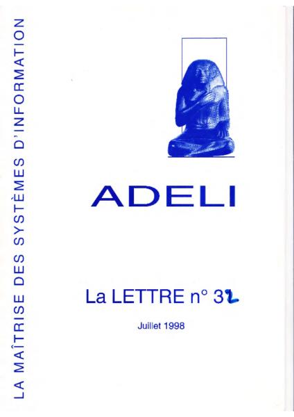 Lettre 32 – Juillet 1998