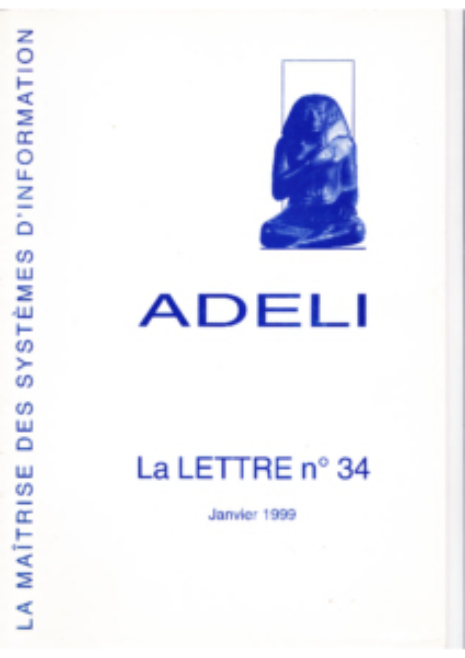 Lettre 34 – Janvier 1999