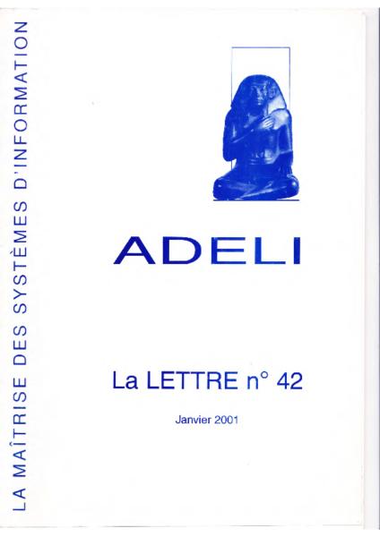 Lettre 42 – Janvier 2001