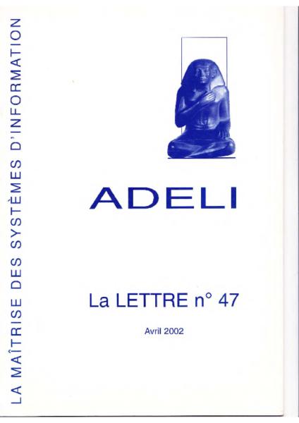 Lettre 47 – Avril 2002