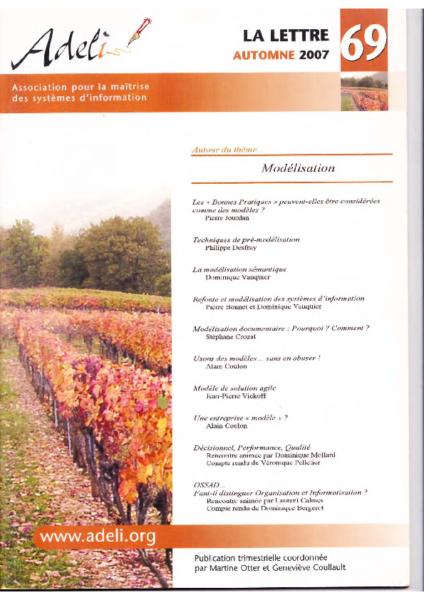 Lettre 69 – Automne 2007 – Modélisation