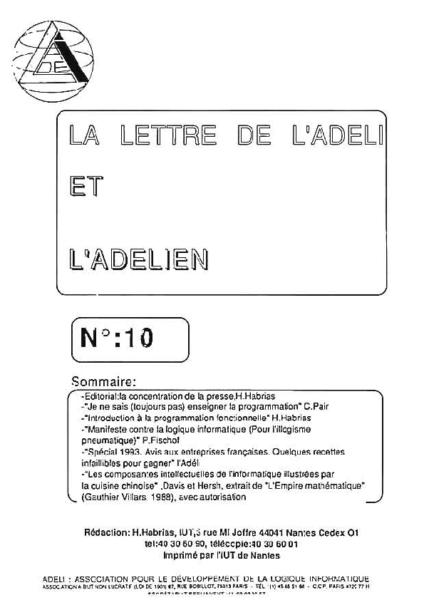 Lettre 10