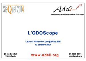 Sisqual 2004 Présentation ODOSCOPE 2