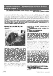 l57p14-Comment mesurer l'âge et estimer le reste à vivre de vos chiens? 5