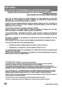 l80p10-ISO 20000, du service informatique au service tout court... 1