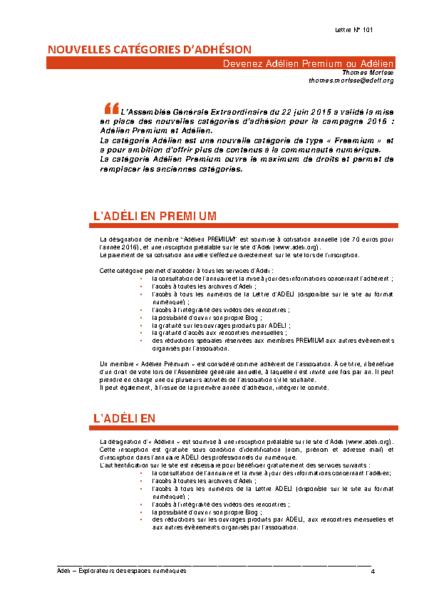 L101p04-Nouvelles catégories d'adhésion