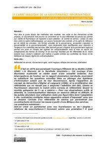 L104p20-Le carré magique de la gouvernance informatique 2