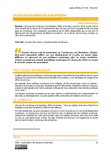 L108p13-Politique numérique européenne