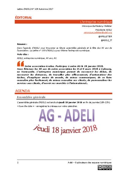 L109p02- Éditorial – L'entreprise numérique