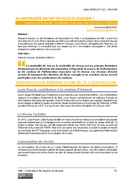 L112p43-La neutralité du net est-elle en danger?