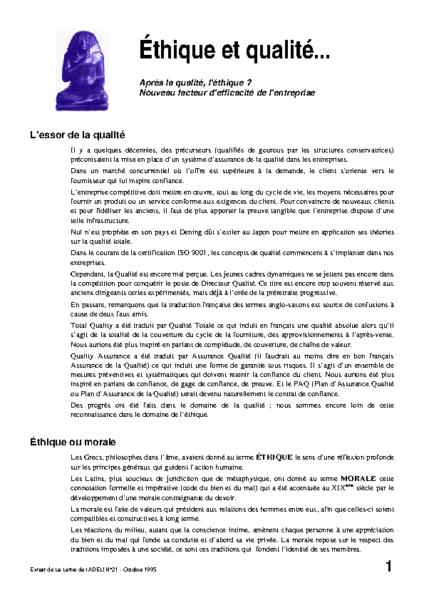 l21p25-éthique et qualité