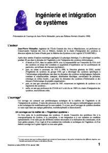 l34p30-Ingénierie et intégration de systèmes 2