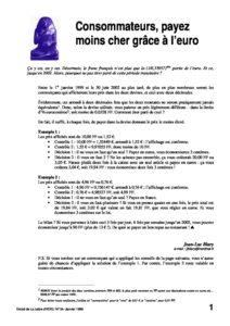 l34p38-Consommateurs, payez moins cher grâce à l'euro 10