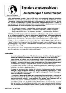 l46p23-Signature cryptographique: du numérique à l'électronique 6