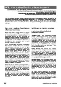 l53p22-GCL, pour la simplification et la performance 3
