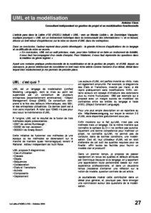 l53p27-UML et la modélisation 1