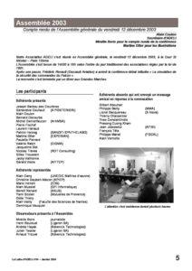 l54p05-Compte rendu de l'assemblée 2003 2