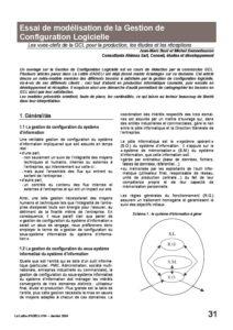 l54p31-Essai de modélisation de la gestion de configuration logicielle 5