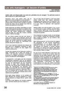l55p30-Les arts managers: un besoin d'unités 4