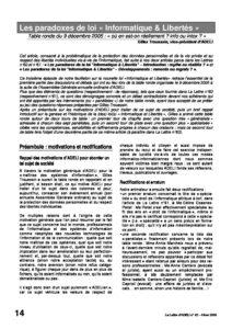 "l62p14-Les paradoxes de la loi ""informatique & libertés"" 5"