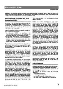 l64p07-Forum ITIL 2006 8