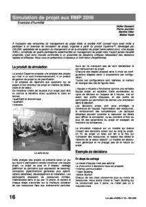l64p16-Simulation de projet aux RMP 2006 7
