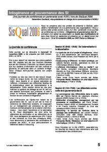 l65p05-Infogérance et gouvernance des SI - ADELI au salon Sisqual2006 7