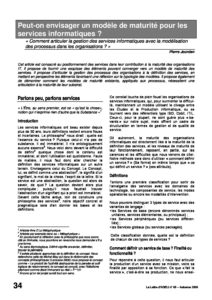 l65p34-Peut-on envisager un modèle de maturité pour les services informatiques? 1