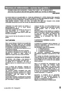 l79p05-Normes et référentiels : suivez les guides! 3