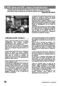 l81p16-L'ABC dans une DSI: retour d'expérience(s) 4