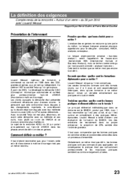l81p23-La définition des exigences