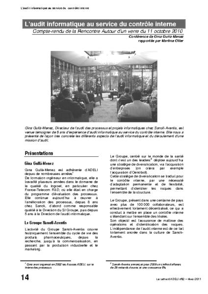 l82p14-L'audit informatique au service du contrôle interne