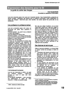l82p19-Expression des besoins pour le SI 6