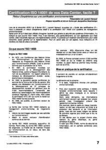 l83p07-Certification ISO 14001 de vos Data Center, facile? 9
